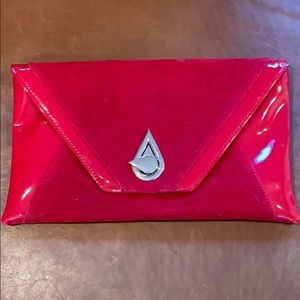 Handbags - Beautiful red leather clutch